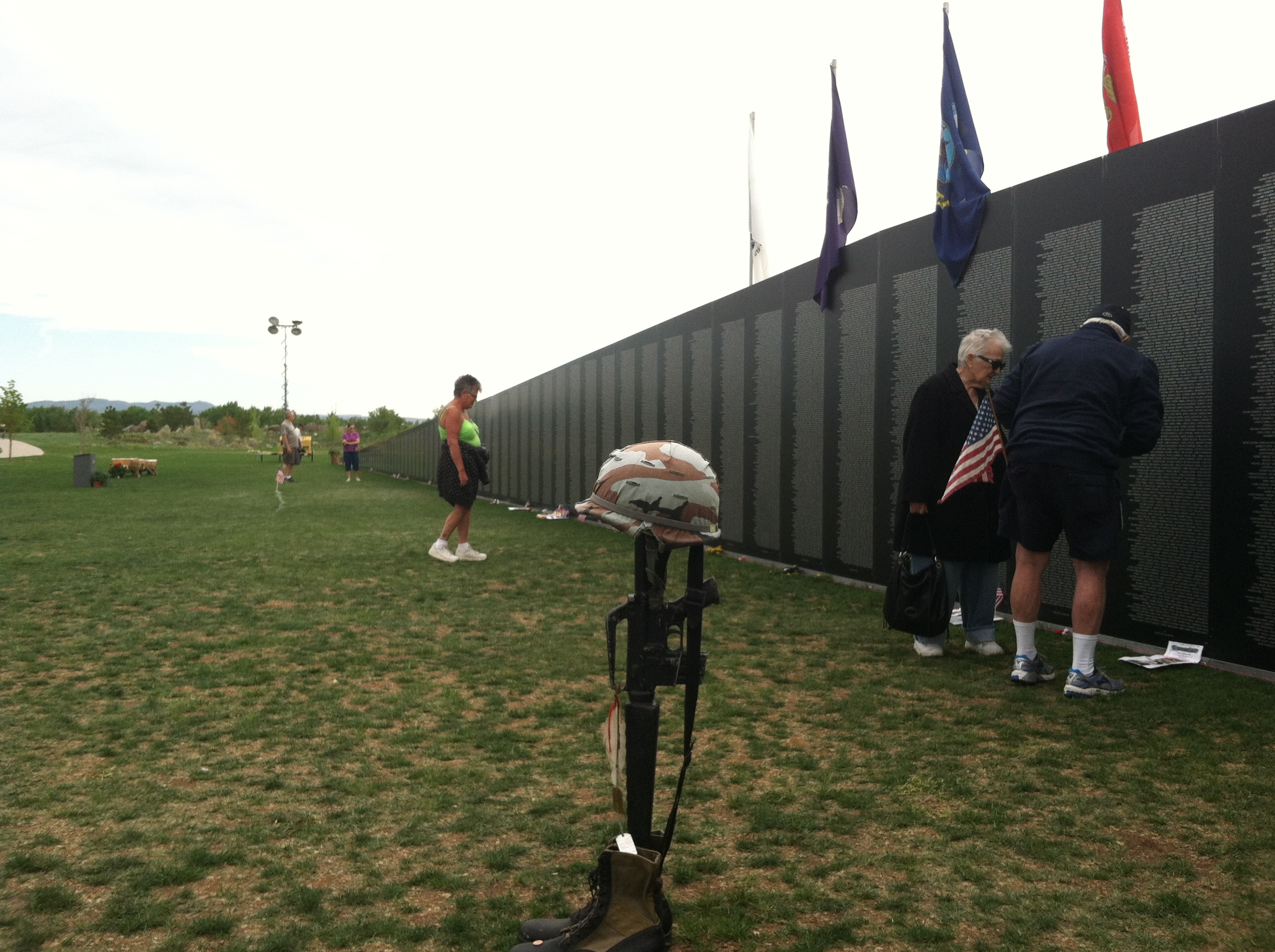 Vietnam traveling wall in Fort Collins