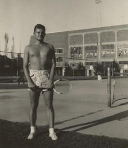 Dad the tennis bum